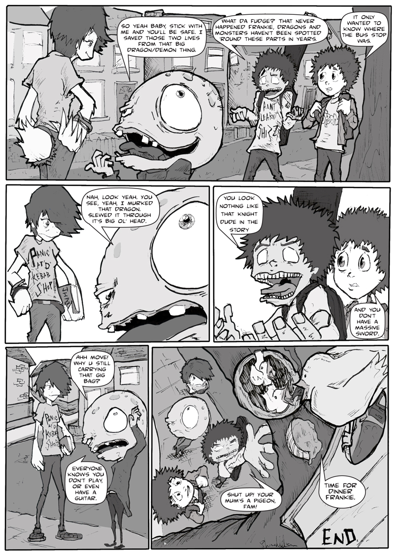 The Chase page 2 (Lies)